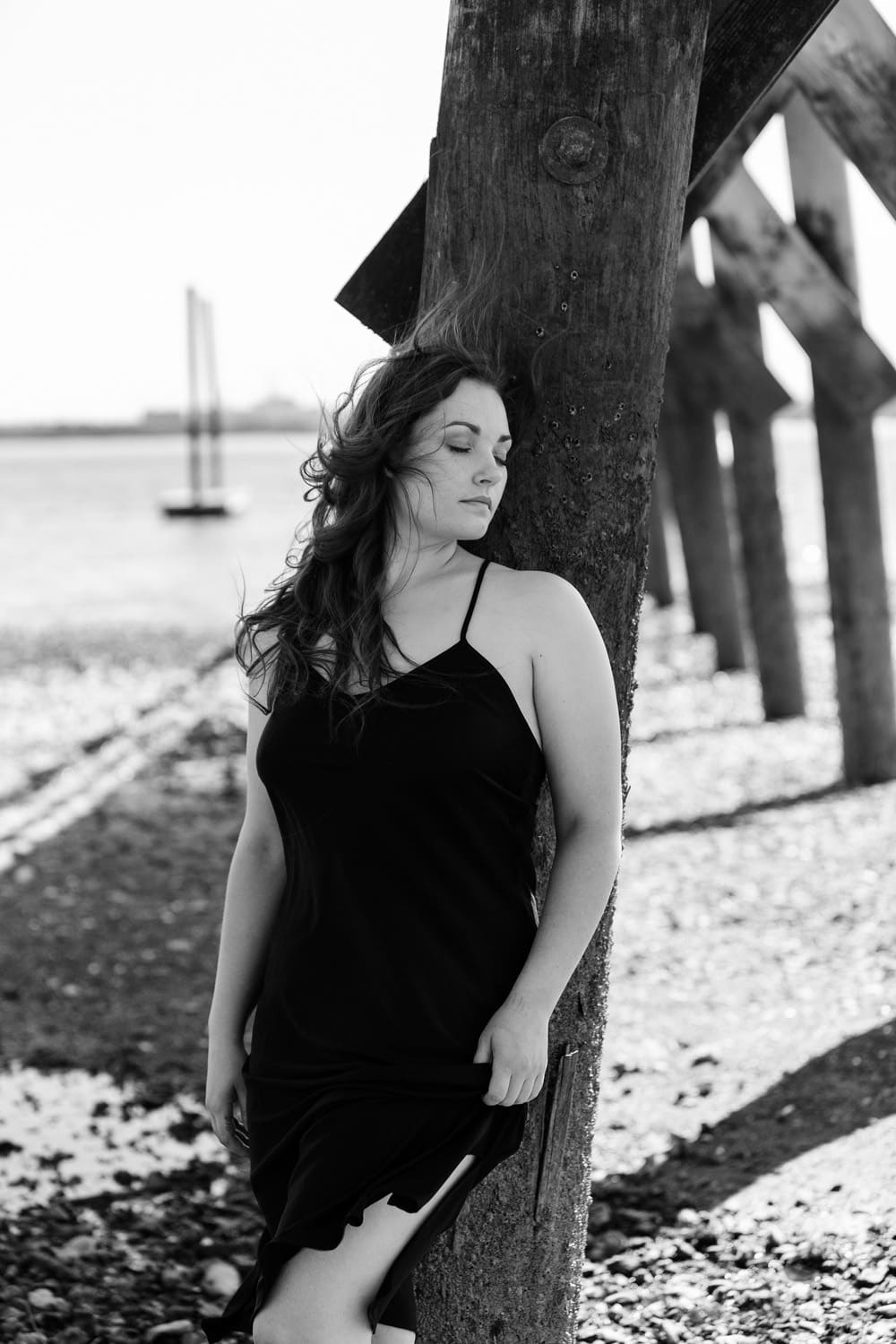 body positive boudoir boston photographer intimate portrait water