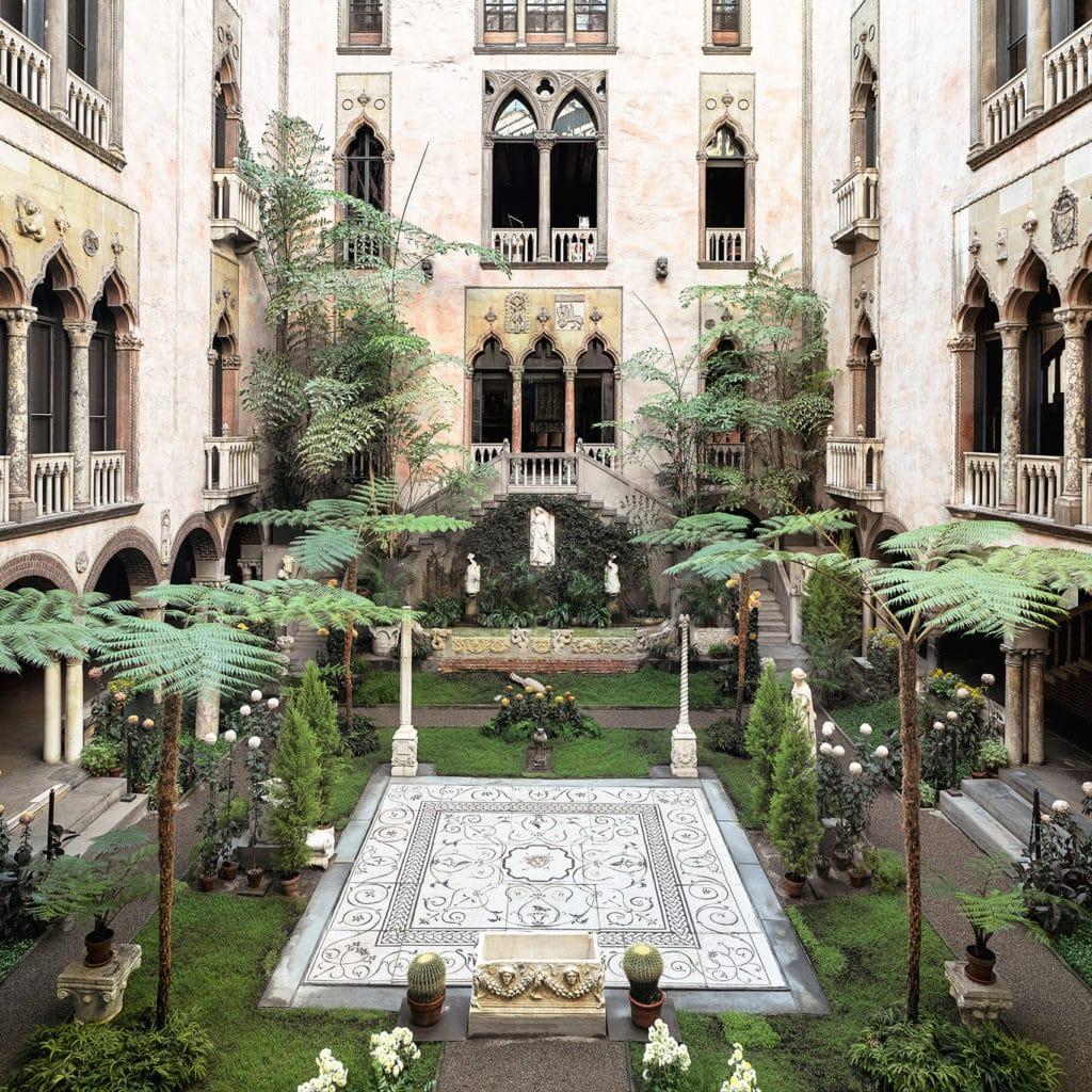 Courtyard, Isabella Stewart Gardner Museum Boston