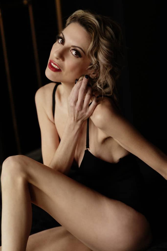 boston lingerie photo shoot black bodysuit