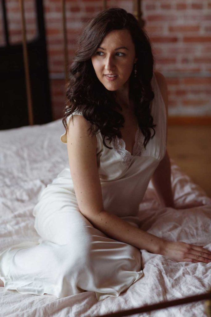 Boston Boudoir Portraits Natural Window Light Directional